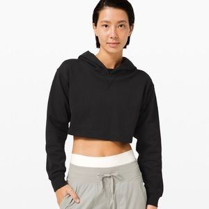NWT | Lululemon All Yours Cropped Hoodie | Size 10